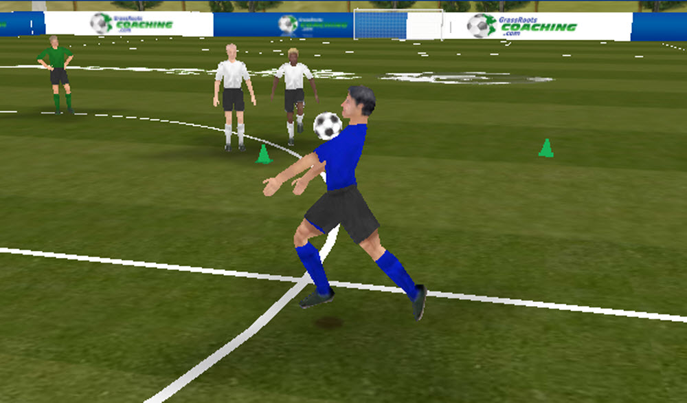 Ball Control And Receiving Training Session 1 For Young